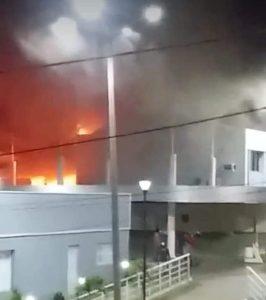 Prédio da Prefeitura de Orós, no Ceará, é atingido por incêndio