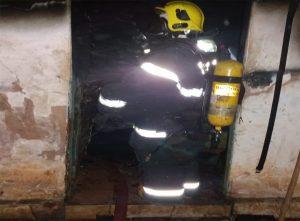 Bombeiros de Araguari registram duas ocorrências de incêndio