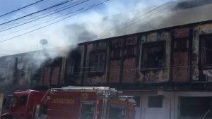 Quitinete no Centro de Fortaleza sofre princípio de incêndio