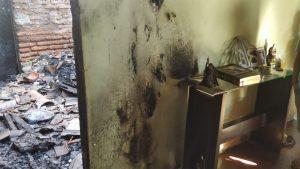 Menino de 3 anos morre e avó fica ferida em incêndio dentro de quarto em Juazeiro do Norte