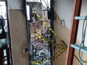 Incêndio durante a madrugada destrói apartamento no Parque Albano, em Caucaia