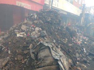 Lojas fechadas por incêndio terão prejuízo de 5% de faturamento por dia sem atividades