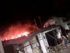 Metalúrgica que funcionava em residência é atingida por incêndio em Sobral