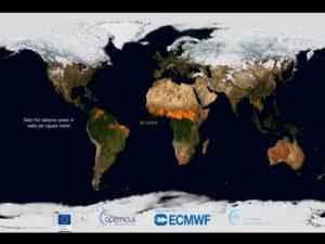 Vídeo mostra todos os incêndios florestais de 2019
