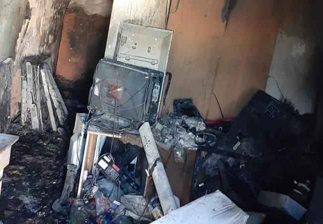 Policial internado após salvar vítimas de incêndio manda mensagem do hospital: 'tá dando certo'