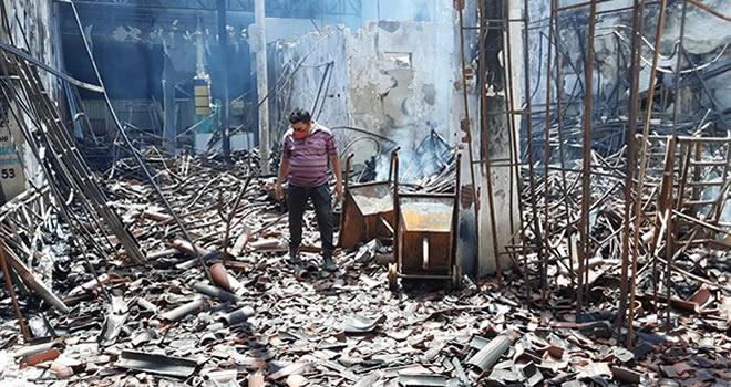 Polícia investiga incêndio na antiga estação ferroviária de Iguatu que deixou prejuízo de R$ 900 mil