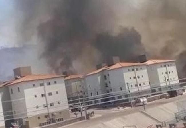 Incêndios atingem cinco cidades cearenses e chegam próximo de casas em Iguatu e Sobral