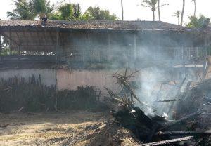 Incêndio destrói barraca de pescadores em Jericoacoara; não há feridos