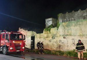 Incêndio destrói maquinário de madeireira no Novo Mondubim