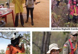 A força e a resistência feminina na linha de frente do combate a incêndios florestais